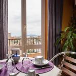 Sala colazione con vista